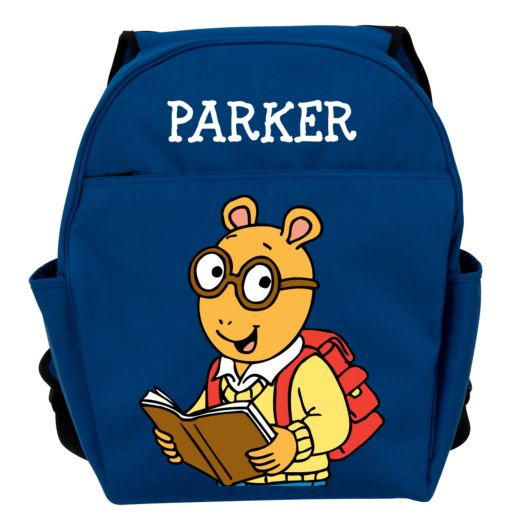 Arthur Love to Read Blue Toddler Backpack