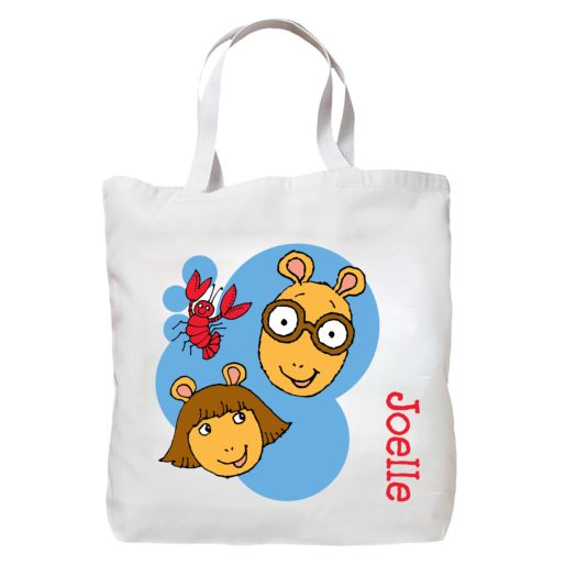 Arthur & D.W. Summer Splash Tote Bag