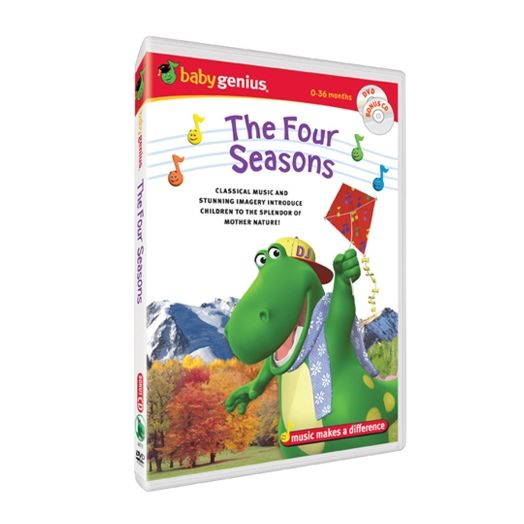 Baby Genius The Four Seasons DVD