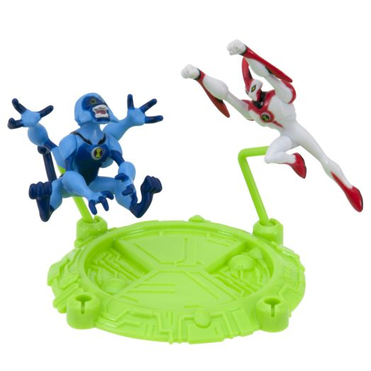 "Ben 10 Way Big & Spidermonkey 2-1/2"" Action Hero Pack"