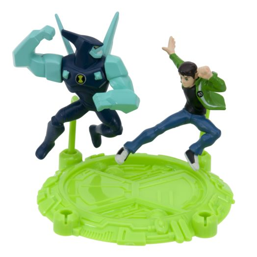 "Ben 10 Ben & Diamondhead 2-1/2"" Action Hero Pack"
