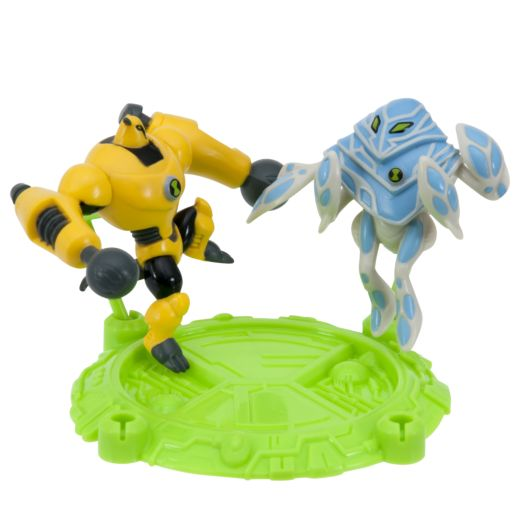 "Ben 10 Armodrillo & Ampfibian  2-1/2"" Action Hero Pack"