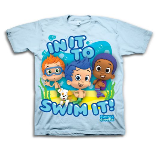 Bubble Guppies - In It To Swim It Toddler T-shirt