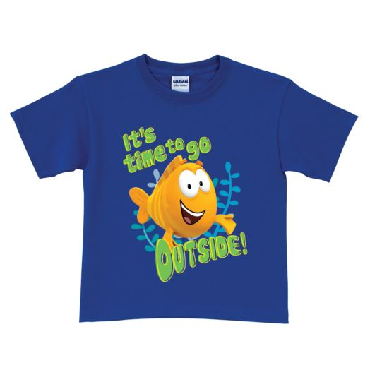 Bubble Guppies Mr. Grouper Royal Blue T-shirt