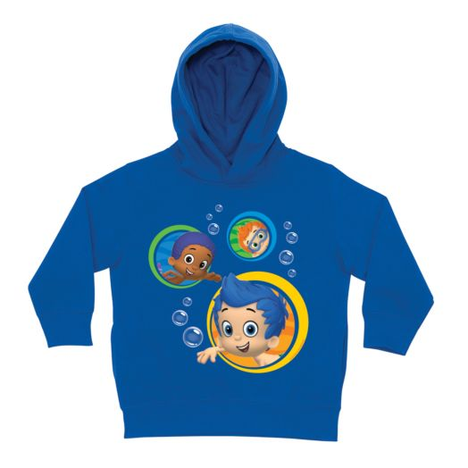 Bubble Guppies Guppy Boys Royal Blue Toddler Hoodie