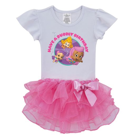 Bubble Guppies Girls Birthday Tutu Shirt