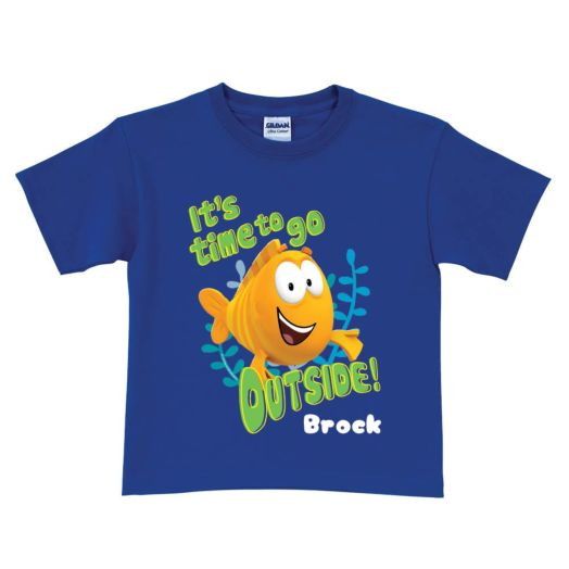 Bubble Guppies Mr. Grouper Blue T-shirt