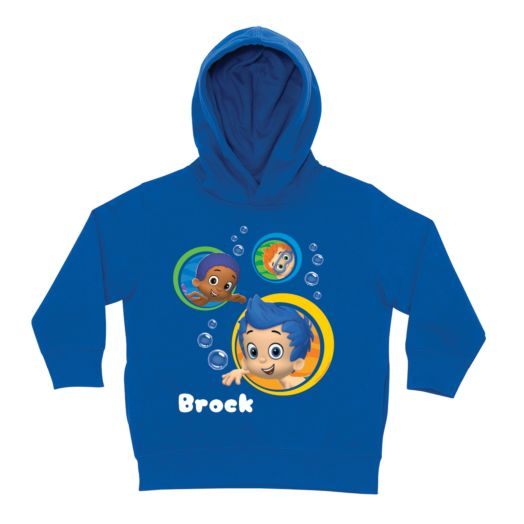 Bubble Guppies Guppy Boys Blue Toddler Hoodie