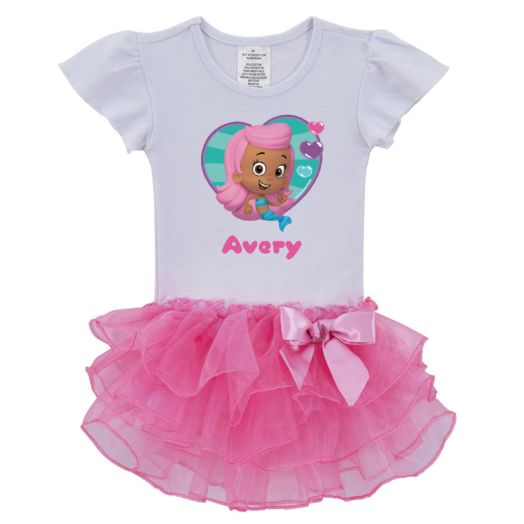 Bubble Guppies Molly Pink Tutu Shirt