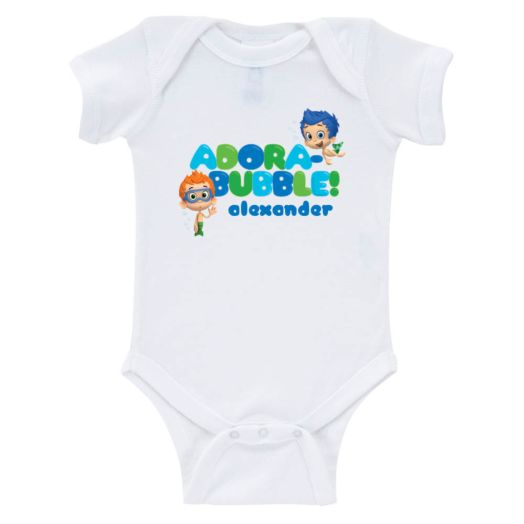 Bubble Guppies Boys Adora-bubble Infant Bodysuit