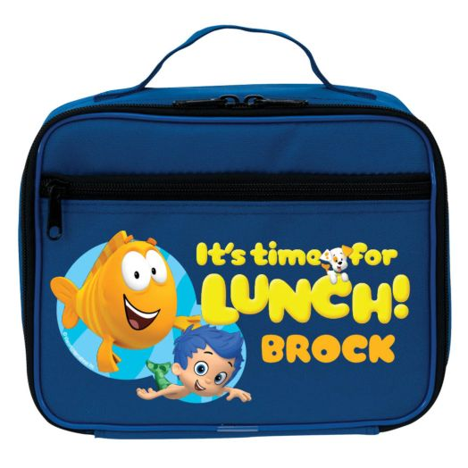 Bubble Guppies Blue Lunch Bag