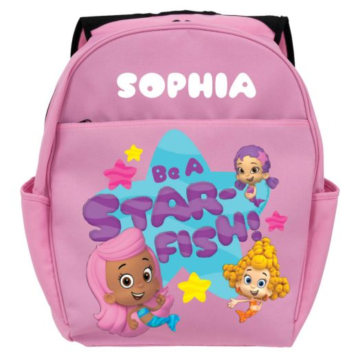 Bubble Guppies Be A Star Pink Toddler Backpack