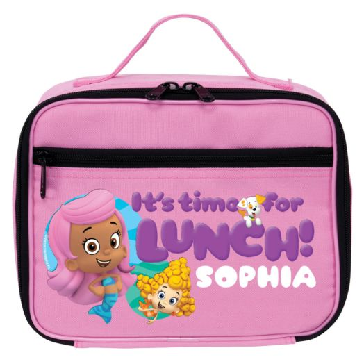 Bubble Guppies Guppy Girls Pink Lunch Bag