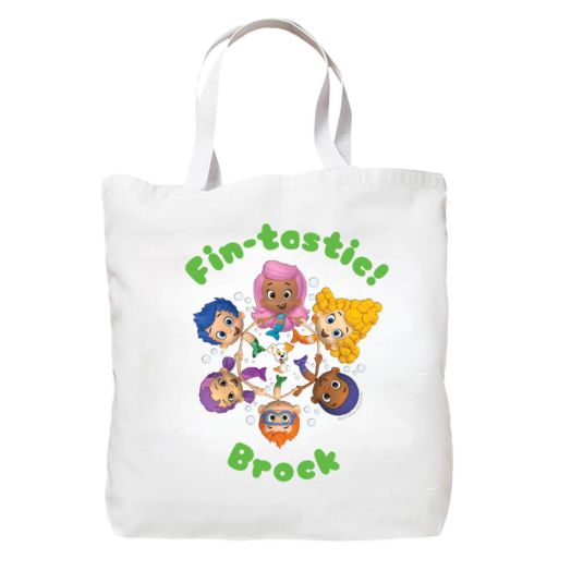 Bubble Guppies Group Circle Tote Bag
