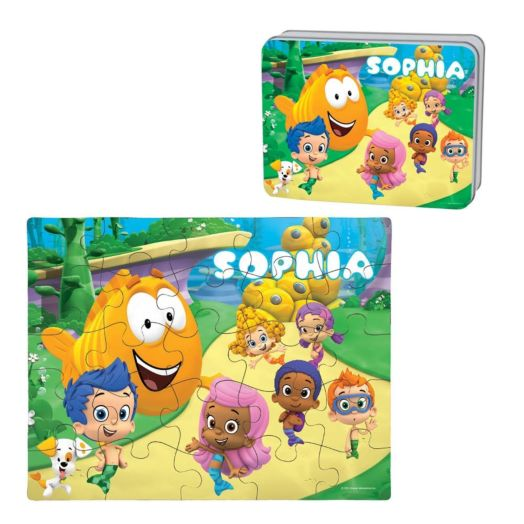 Bubble Guppies Puzzle and Gift Tin