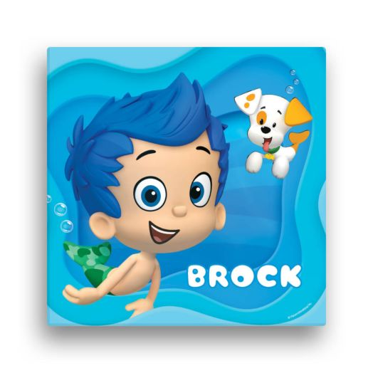 Bubble Guppies Gil 12 x 12 Canvas Wall Art