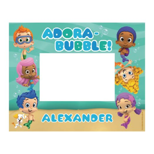 Bubble Guppies Picture Frame