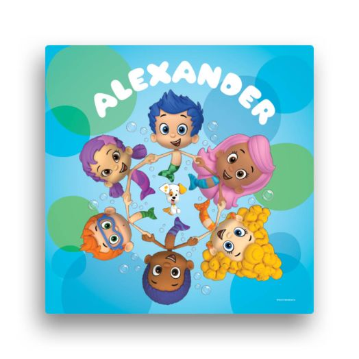 Bubble Guppies Circle of Friends 12 x 12 Canvas Wall Art
