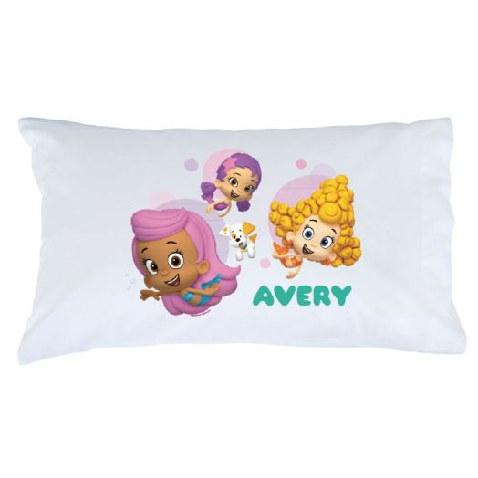 Bubble Guppies Girls and Guppy Puppy Pillowcase
