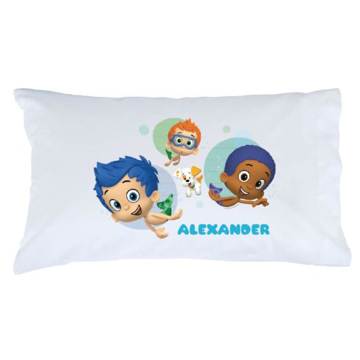 Bubble Guppies Boys and Guppy Puppy Pillowcase