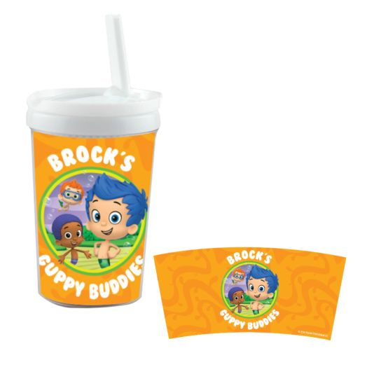 Bubble Guppies Guppy Buddies White Sippy Cup