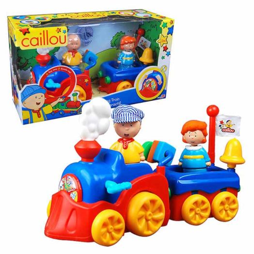 Caillou Learning Train