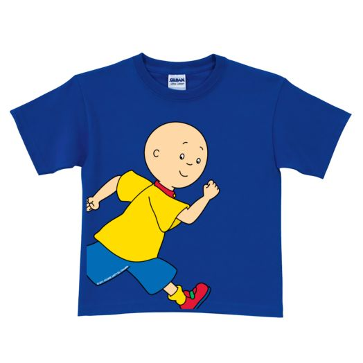 Caillou Running Royal Blue T-Shirt