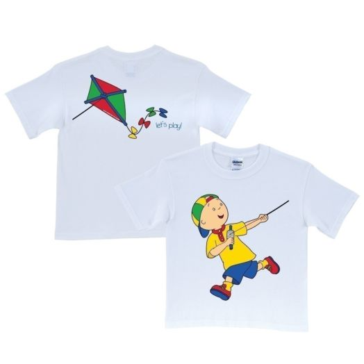 Caillou Kite White T-Shirt