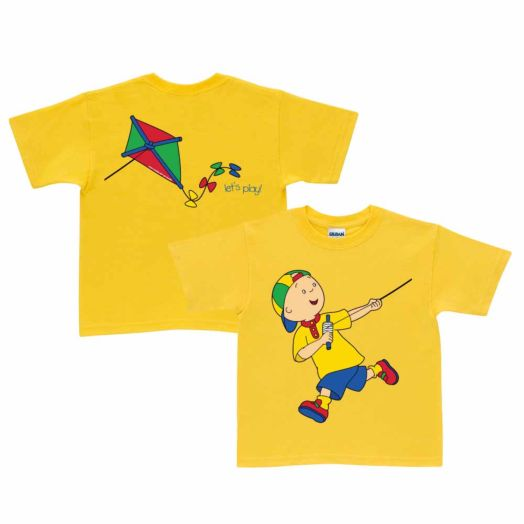 Caillou Kite Yellow T-Shirt