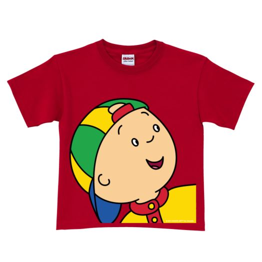 Caillou Close-Up Red T-Shirt