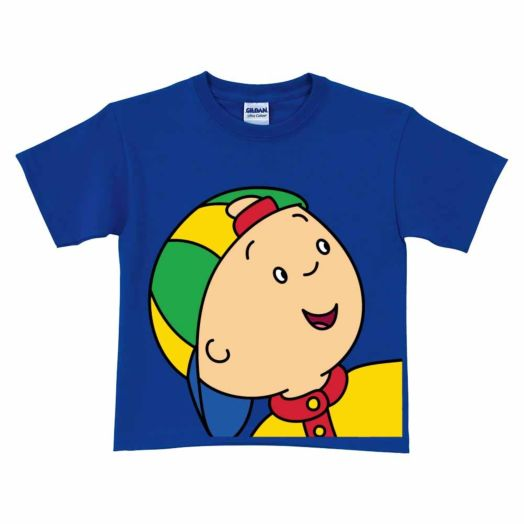 Caillou Close-Up Royal Blue T-Shirt
