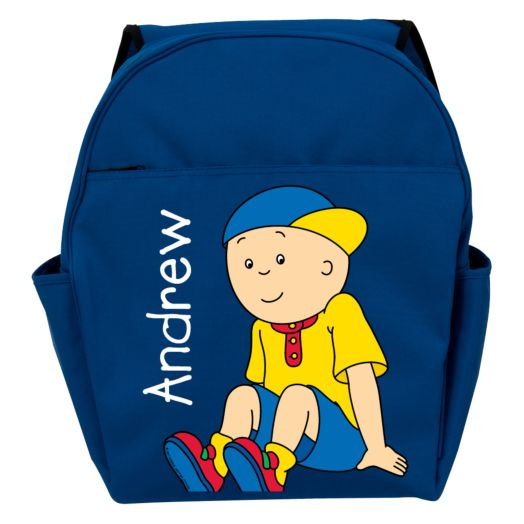 Caillou Let's Play Blue Toddler Backpack