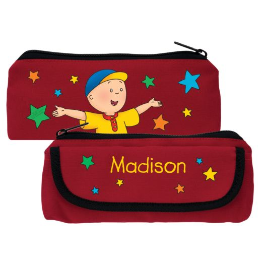 Caillou & Friends in Stripes Red Trick-or-Treat Bag