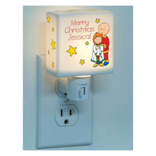 Caillou & Rosie Merry Christmas Nightlight