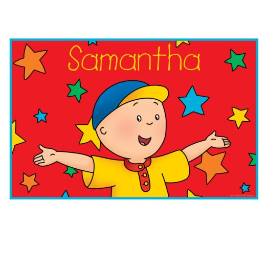 Caillou & Stars Placemat