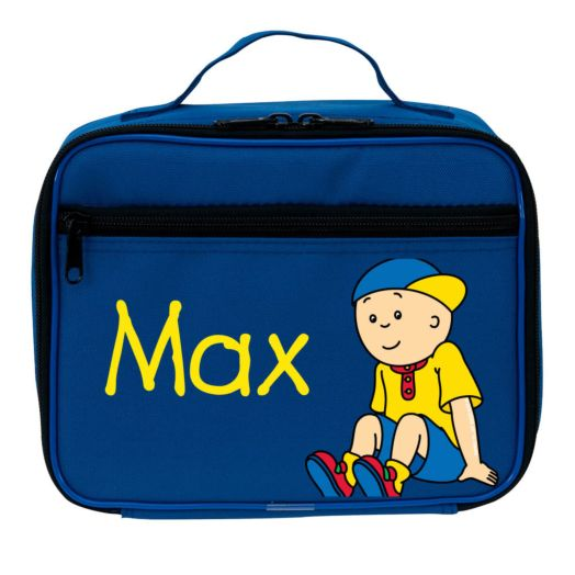 Caillou Let's Play Blue Lunch Bag