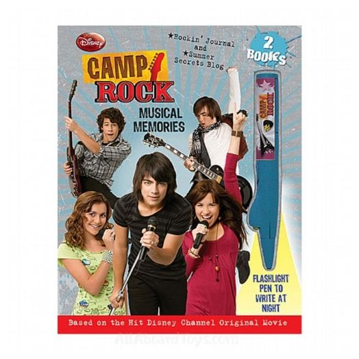 Camp Rock The Musical Memories Book