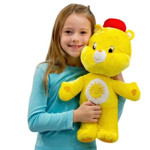 Care Bears Large 17 In Funshine Bear Yellow Plush Toy