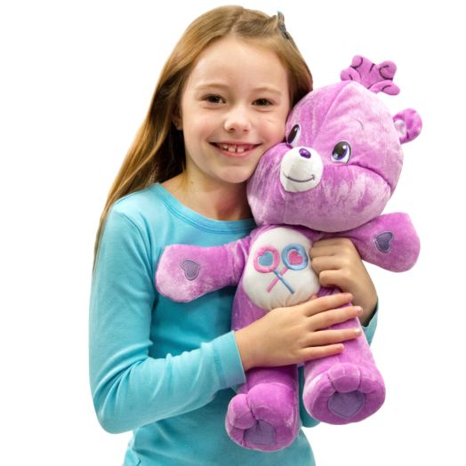 Care Bears Large 17 In Share Bear Purple Plush Toy