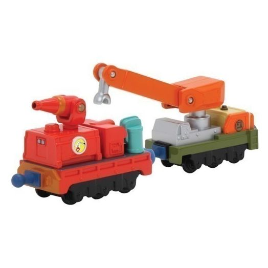 Chuggington Calley's Die-Cast Fire and Rescue Cars