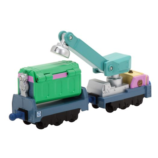 Chuggington Irving's Die-Cast Recycling Cars