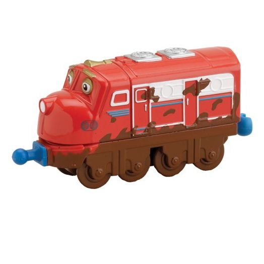 Chuggington Muddy Wilson Die-Cast Engine