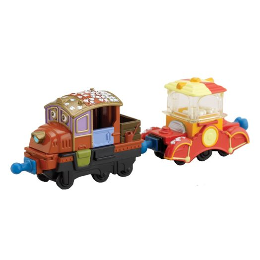 Chuggington Popcorn Hodge and Popper Car Die-Cast Engine
