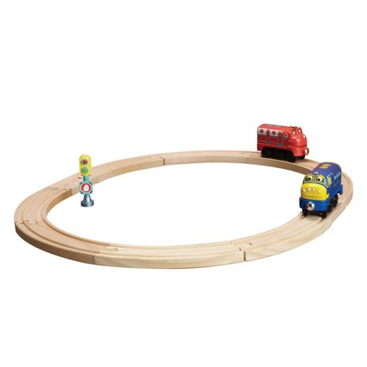 Chuggington Trains Wooden Railway Beginners Set