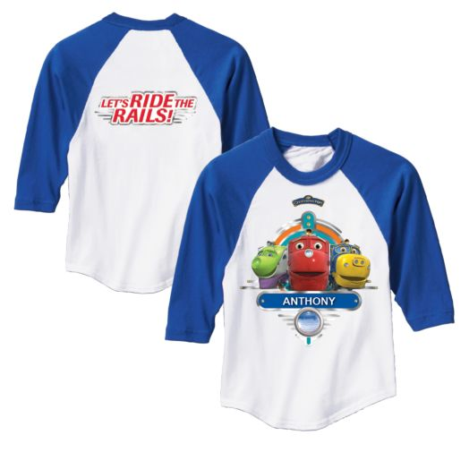 Chuggington Chuggers Royal Blue Sport Jersey