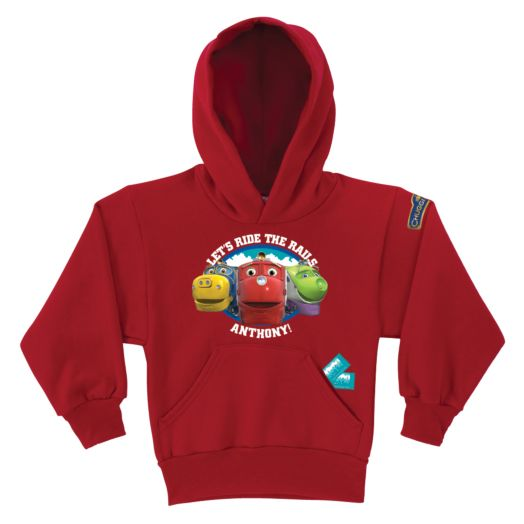 Chuggington Tickets Red Youth Hoodie