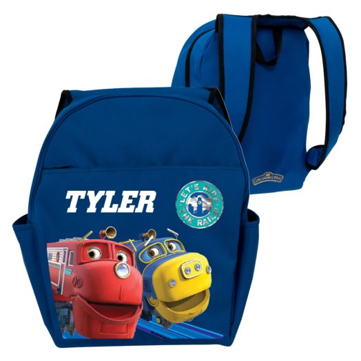 Chuggington Wilson & Brewster Blue Toddler Backpack