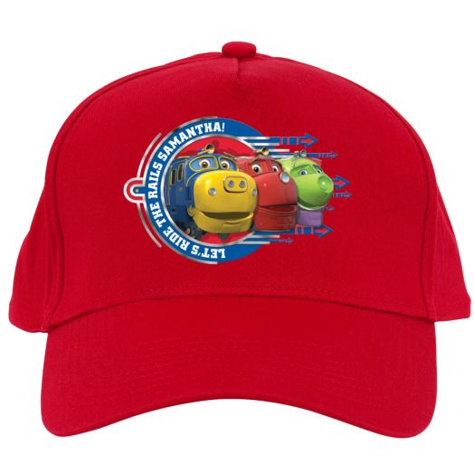 Chuggington Let's Ride Red Baseball Cap