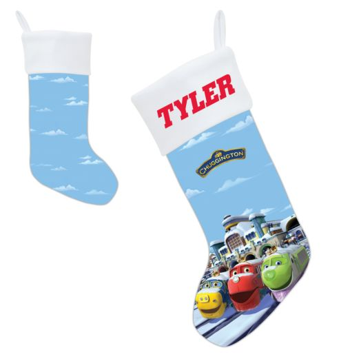 Chuggington Snow Plowing Fun Christmas Stocking