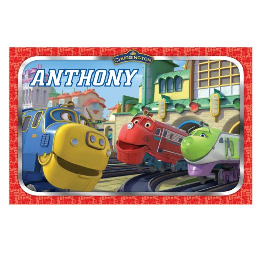 Chuggington Hello Trainees Placemat